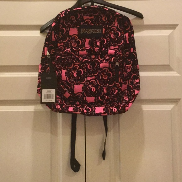 superior quality replicas official shop Girls Jansport Backpack Pink and Black NWT